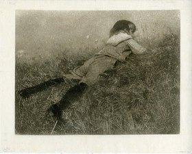 Heinrich Kühn: Hans im Gras