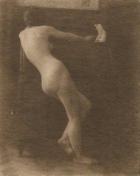 Heinrich Kühn: Ohne Titel (Weiblicher Akt)
