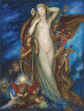 Gustave Moreau: Verherrlichung Helenas