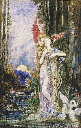 Gustave Moreau: Inspiration. / L'Inspiration