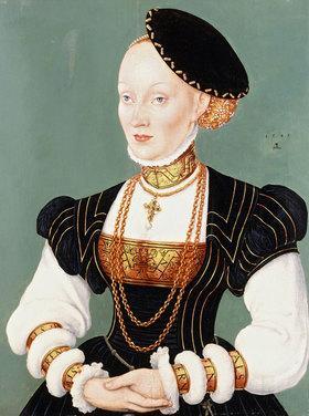 Lucas Cranach d.Ä.: Porträt von Anna von Dänemark