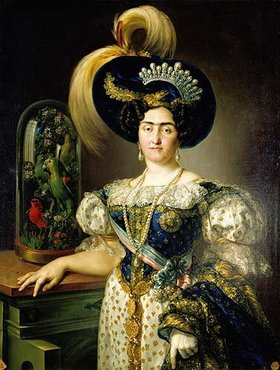 Vicente López: Maria Franziska von Braganza und Burbon