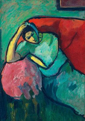 Alexej von Jawlensky: Sitzende Frau