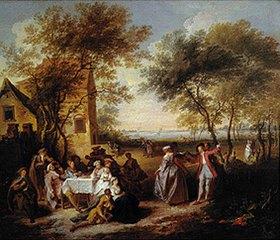 Pierre Antoine Quillard: Ländliches Fest