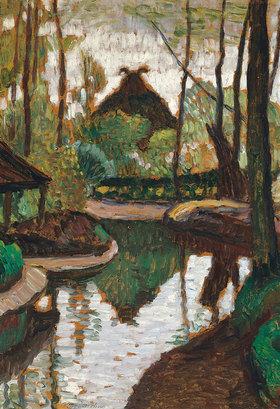Otto Modersohn: Frühling an der Wümme