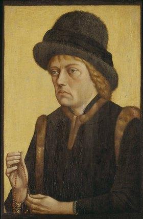 Meister d. Mornauer Bildnisses: Herzog Sigismund von Österreich (Graf von Tirol?), Bildnis