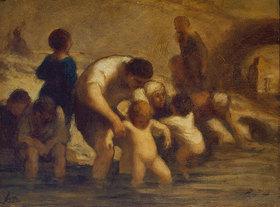 Honoré Daumier: Das erste Bad