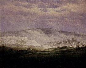 Caspar David Friedrich: Nebel im Elbttal