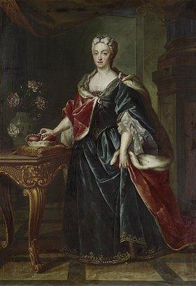 Joseph Vivien: Kurfürstin Therese Kunigunde von Bayern