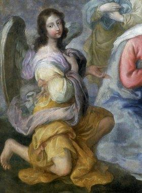 Fiammingo (oder Andrea Michele): Engel (Detail aus: Anbetung der Hirten)