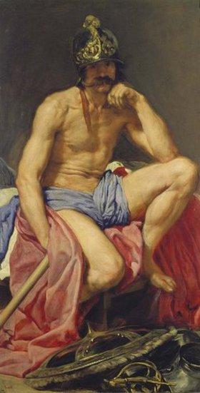 Diego Rodriguez de Velazquez: Der Gott Mars. 1640(?)