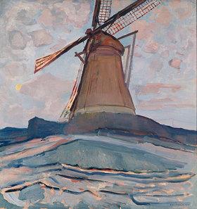 Piet Mondrian: Windmühle