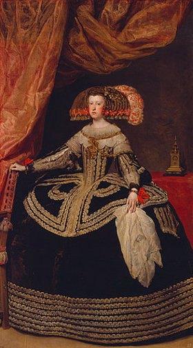 Diego Rodriguez de Velazquez: Königin Maria Anna von Österreich