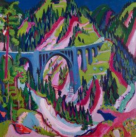 Ernst Ludwig Kirchner: Brücke bei Wiesen