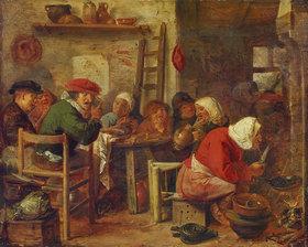 Adriaen Brouwer: Pfannkuchenbäckerin