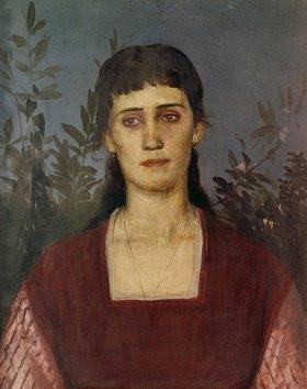 Arnold Böcklin: Bildnis Clara Bruckmann-Böcklin, der ältesten Tochter des Künstlers