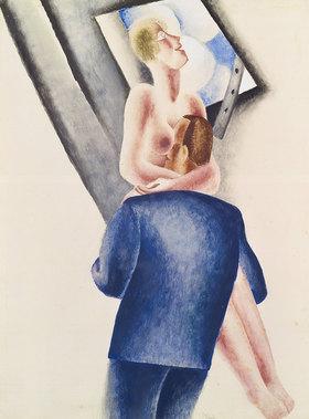 Fritz van den Berghe: La lucarne (Das Dachfenster)