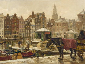 Frans Langeveld: Damrak, Amsterdam