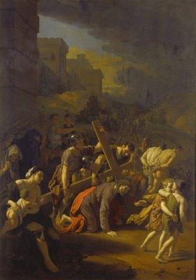Adriaen van der Werff: Die Kreuztragung Christi