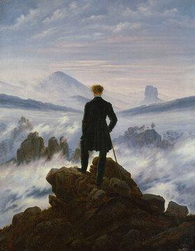 Caspar David Friedrich: Der Wanderer über dem Nebelmeer