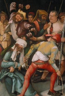 Mathias Grünewald: Die Verspottung Christi