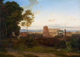 Carl Rottmann: Das Colosseum in Rom