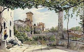 Franz Ludwig Catel: Villa Malta in Rom