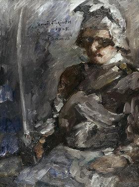 Lovis Corinth: Thomas in Rüstung