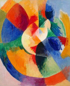 Robert Delaunay: Kreisformen, Sonne