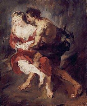 Wilhelm Leibl: Schäferszene, nach Rubens