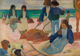 Paul Gauguin: Bretonische Tangsammlerinnen