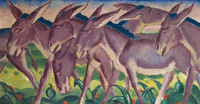 Franz Marc: Eselsfries
