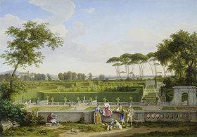 Johann Christian Reinhart: Park der Villa Pamphili
