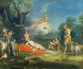 Jacopo Amigoni: Venus und Adonis