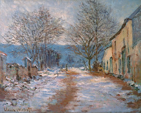 Claude Monet: Schnee in Limetz