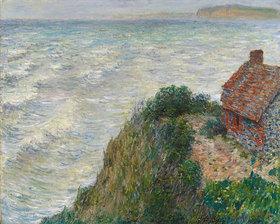 Claude Monet: Fischerhaus in Petit Ailly