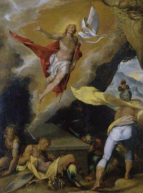 Bartholomäus Spranger: Auferstehung Christi