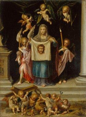 Dirk de Quade van Ravesteyn: Die hl. Veronika mit dem Schweißtuch Jesu
