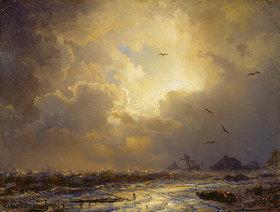 Andreas Achenbach: Nach dem Sturm