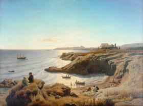 Andreas Achenbach: Küste bei Syrakus