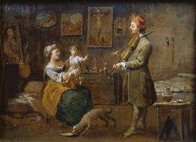 Norbert Grund: Die Familie des Malers
