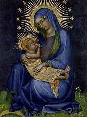 Tschechischer Meister: Die Madonna mit dem Jesusknaben