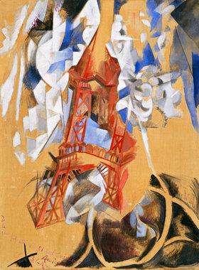 Robert Delaunay: Der Eiffelturm (La Tour Eiffel)