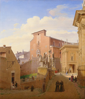 Wilhelm Brücke: Santa Maria Maggiore Aracoeli in Rom