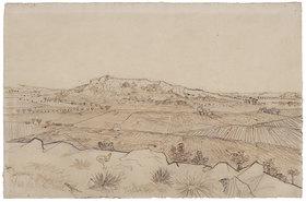 Vincent van Gogh: Vue de la Crau. Ansicht der Crau