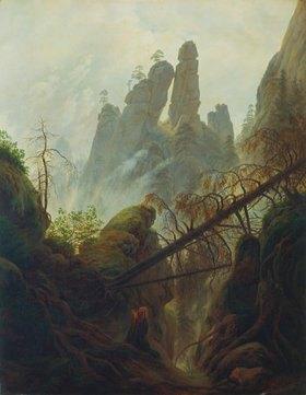 Caspar David Friedrich: Felsenschlucht