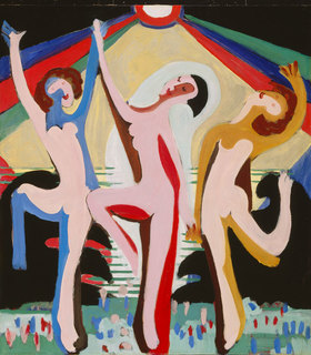 Ernst Ludwig Kirchner: Farbentanz