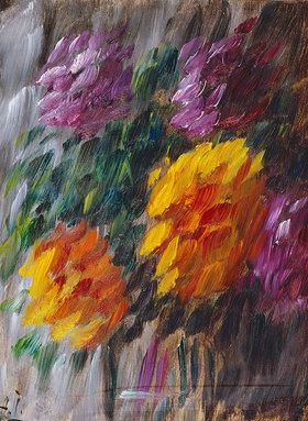 Alexej von Jawlensky: Chrysanthemen im Sturm