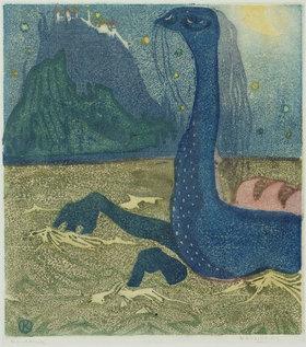 Wassily Kandinsky: Mondnacht