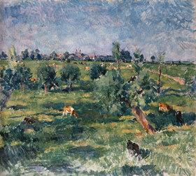 Isselmann Ernst: Landschaft bei Rees